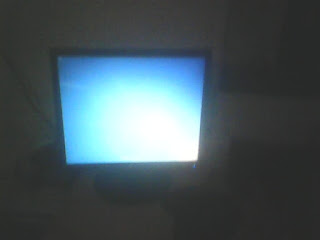 komputer tidak tampil