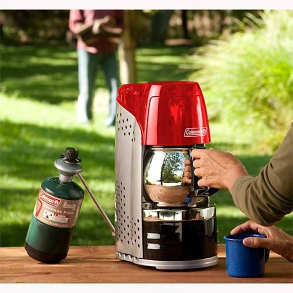 Coleman Camping Coffee Maker Parts : COLEMAN PORTABLE PROPANE COFFEEMAKER Gear We Want