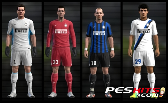 Kits Inter De Milan 11 12 By Maty