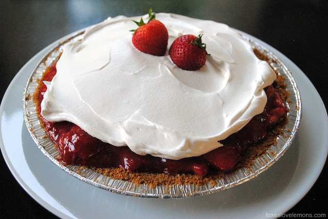 Martha Stewart's Strawberry Icebox Pie