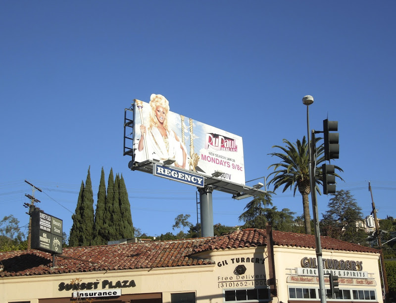 RuPauls Drag Race season 5 extension billboard