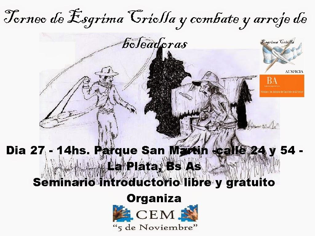 Torneo Esgrima Criolla
