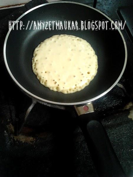 Membuat Pancake Rasa Cinta