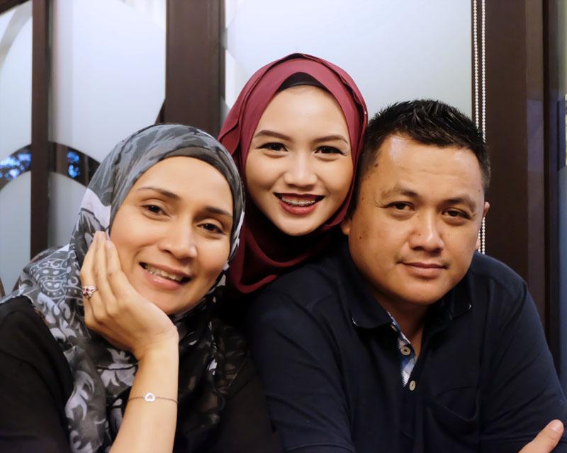 Hijabi Family