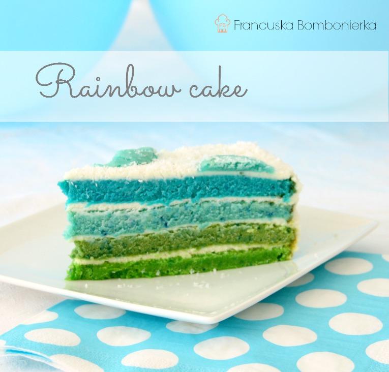 tęczowy tort przepis, tort dla dziecka przepis, http://francuskabombonierka.blogspot.fr/2015/02/o-mili-i-o-tym-ze-bycie-mama-jest-super.html