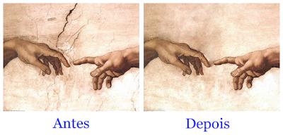 Antes e Depois - 3 - Retoques no Pixlr
