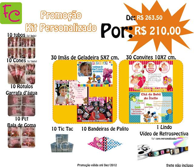 promoção kit festa