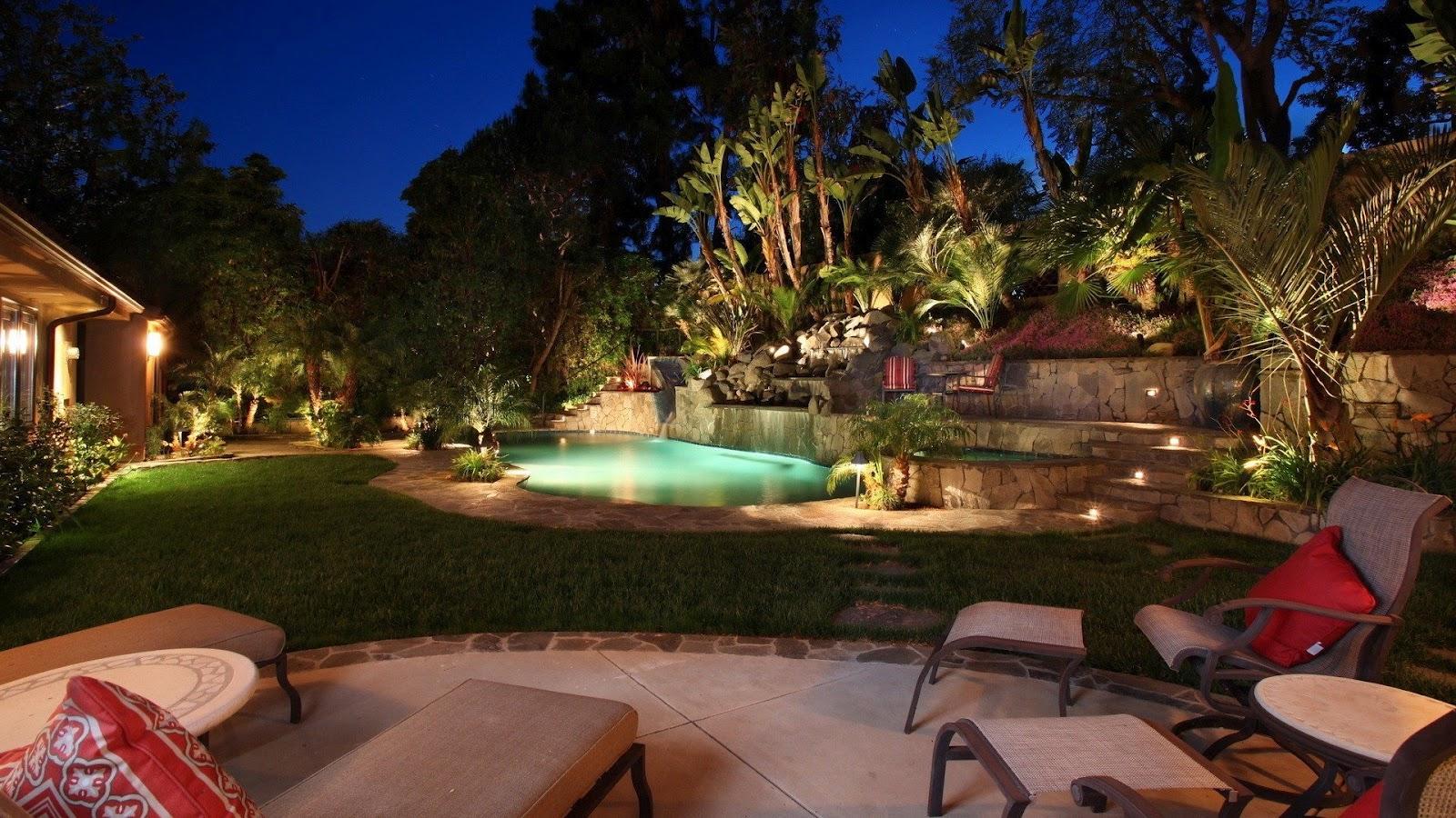 Backyard Background Images : Luxury Computer Wallpaper Free download luxury backyard