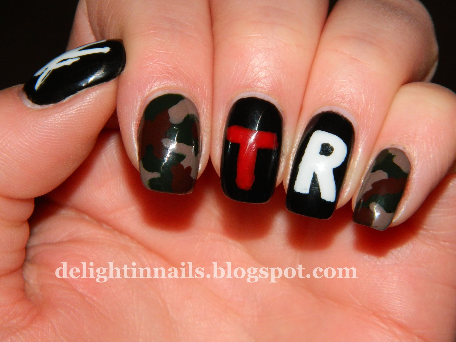 Delight In Nails Tomb Raider Nails