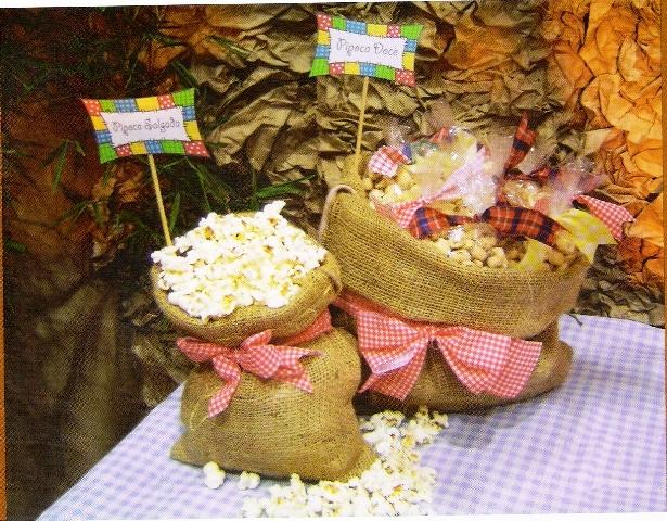 Festa, Sabor& Decoraç u00e3o Idéias de decoraç u00e3o para festa junina -> Ideias Para Decoração De Festa Junina Simples