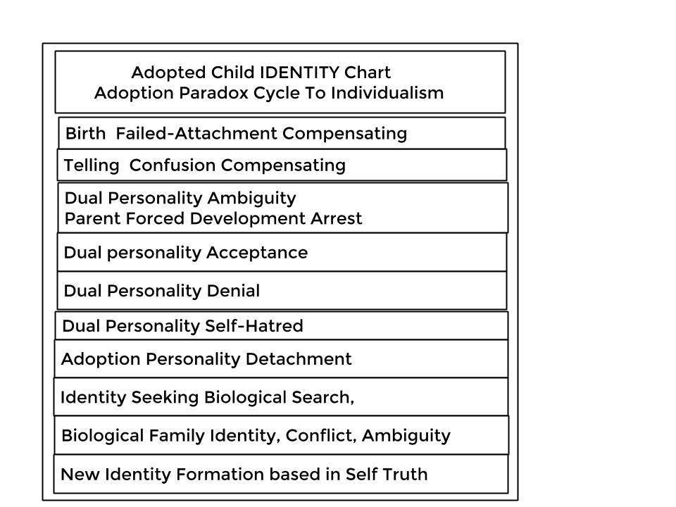 Identity Cycle Adopted Child