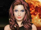 Angelina Jolieye Makyaj Oyunu