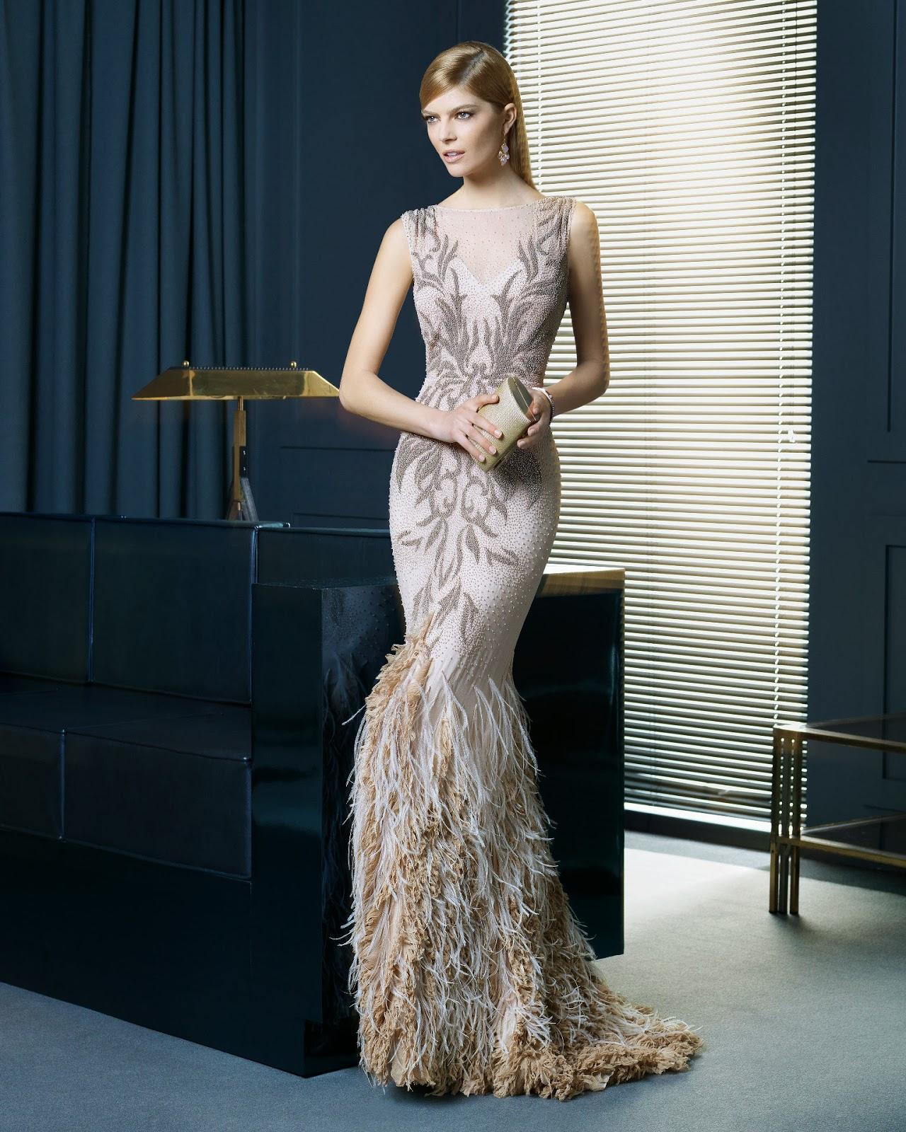 Pictures gece elbise modelleri 2013 uzun dekolteli gece elbise modeli - 2014 Abiye Modelleri