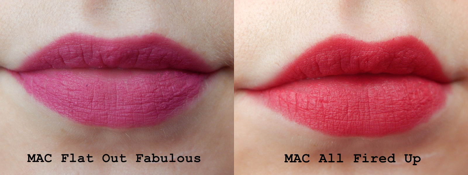 Favori TanjaWhatsername: Review: MAC All Fired Up & Flat Out Fabulous XZ42