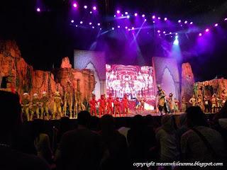 Legenda Putra Mahkota Show Trans Studio Bandung