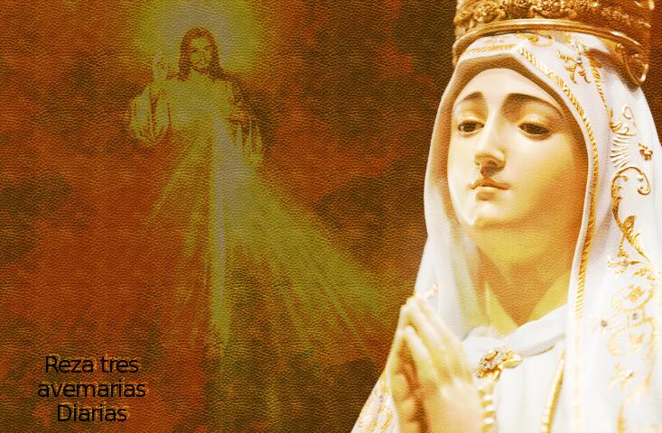 la madre de dios con su hijo divino