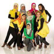 Foto Sunni GirlBand Berjilbab Terbaru