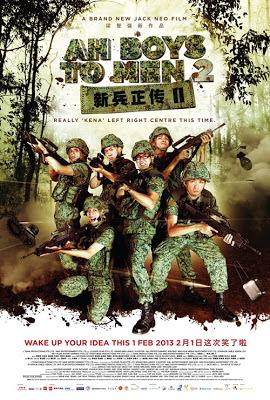 ah boys to men 2 Singaporean film SG movie poster