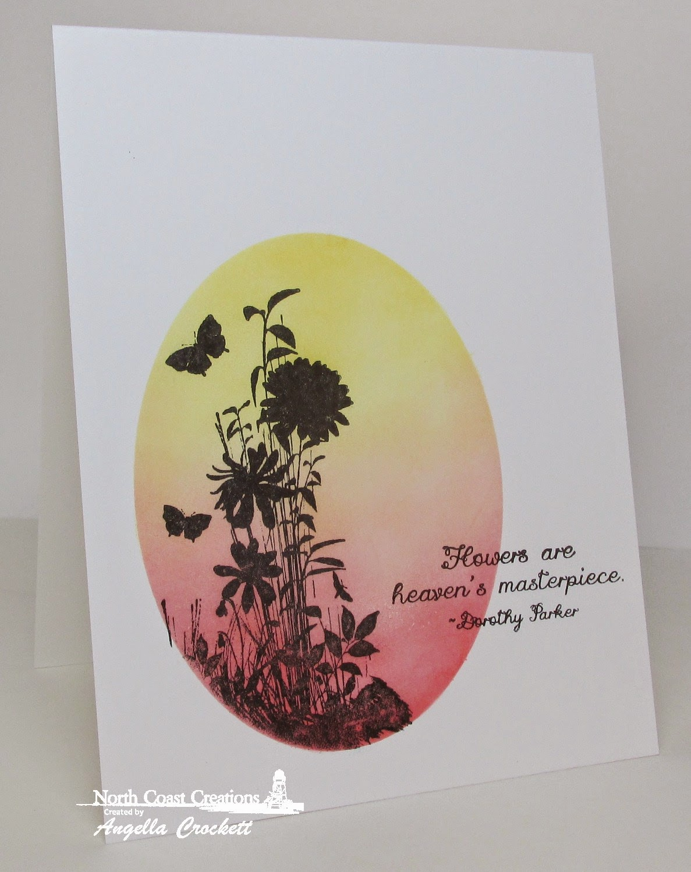 NCC Heaven's Masterpiece, Card Designer Angie Crockett
