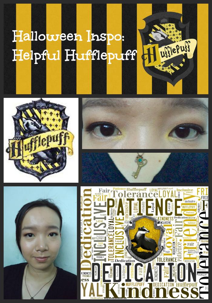 HALLOWEEN INSPO | Helpful Hufflepuff FOTD