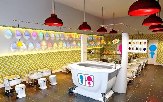Restaurantes que imitan baños conquistan clientes en China ~ Un ...