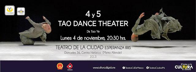Danza contemporánea china en el Teatro de la Ciudad