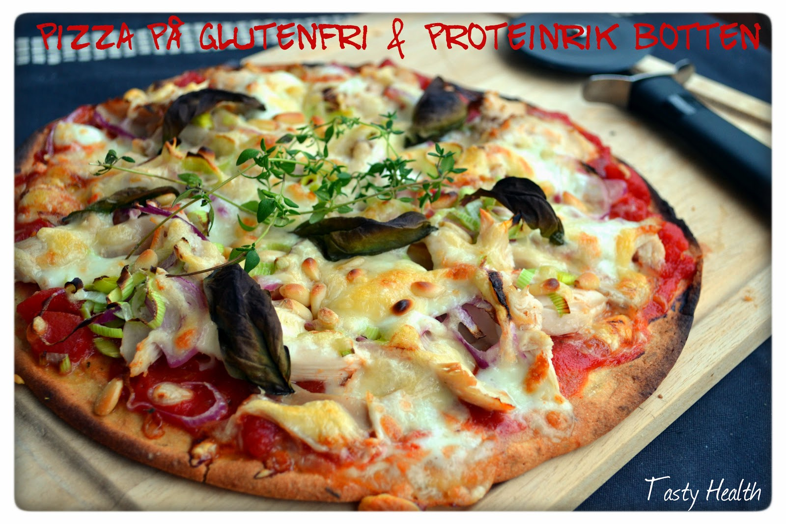 nyttig pizzadeg utan mjöl