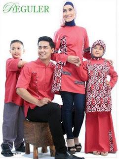 Model Baju Muslim Keluarga untuk Lebaran