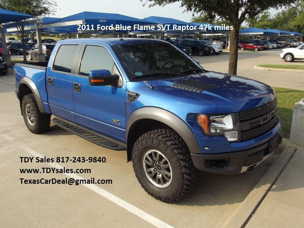 Blue Flame 2011 Ford F-150 SVT Raptor Crew Cab Pickup 4-Door 6.2L ...