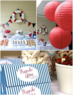 love laugh and plan nautical theme baby shower