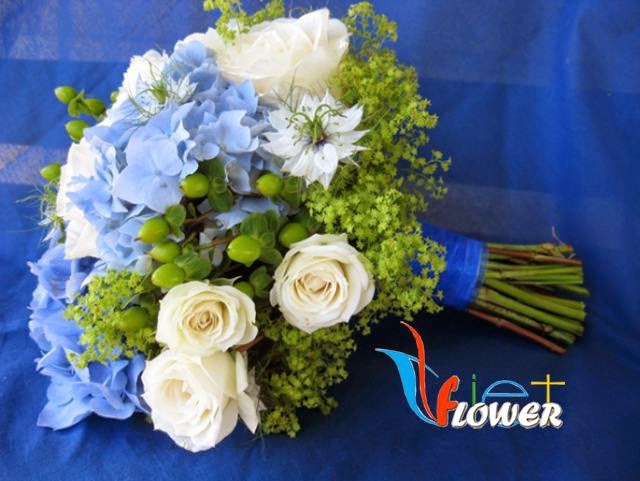 ý nghĩa hoa cẩm tú cầu trong tiệc cưới