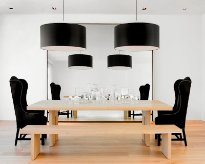 Desain Ruang Makan Dengan Bangku 7