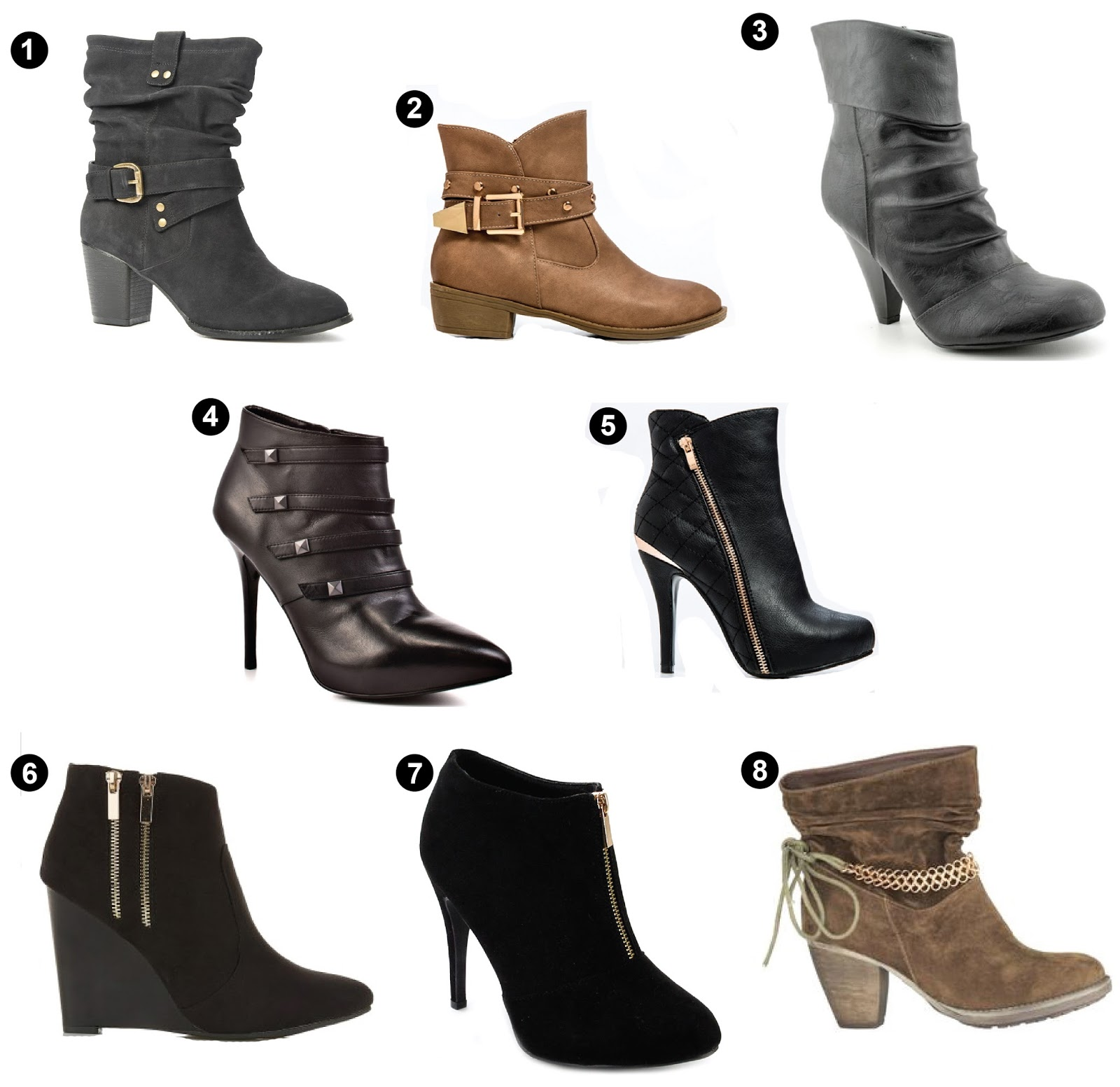 ankle boots must haves looks tips style