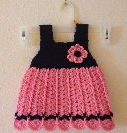Baby Dress Camille - Free Pattern