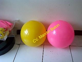 Balon Bulat Polos
