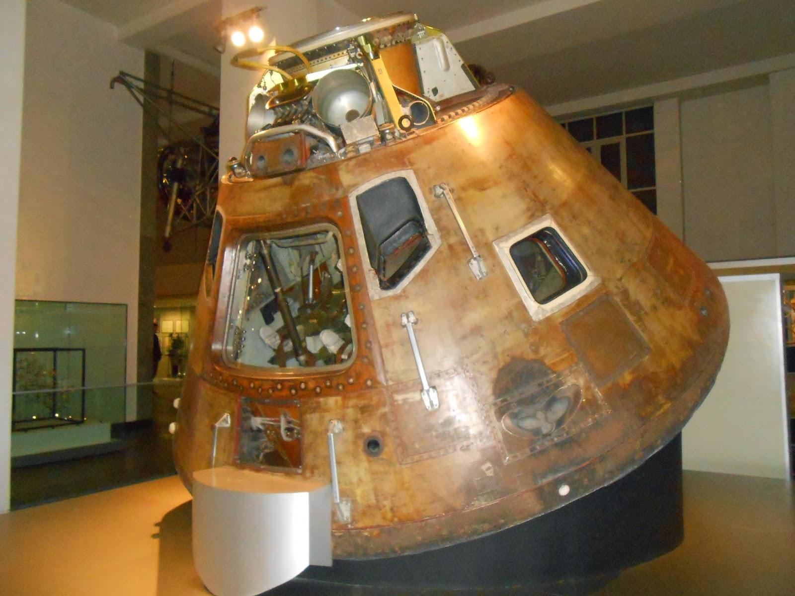 Kapsuła Apollo 10 w Science Museum.