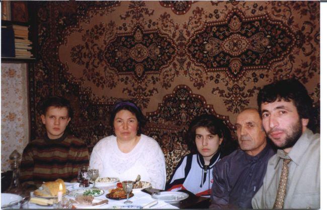 Valentina et Boris et Irina Vatav Chisinau Moldova