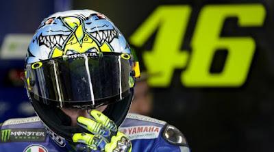 [Sports] Rossi Mengaku Tidak Tahu Penyebab Marquez Jatuh