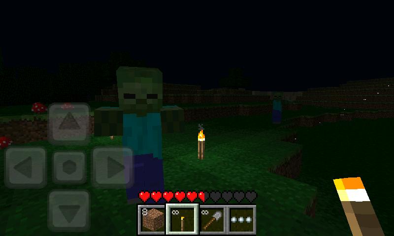 Una noche en minecraft