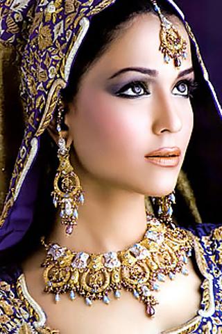 Humaima malik in bridal image