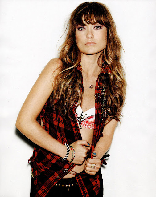 Olivia Wilde Hairstyles For Nylon Magazine August 2011 - 5