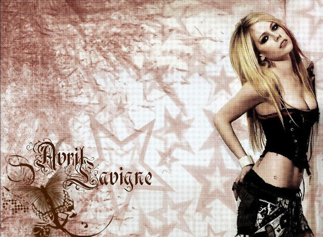 Avril Lavigne Give You What You Like album wallpaper