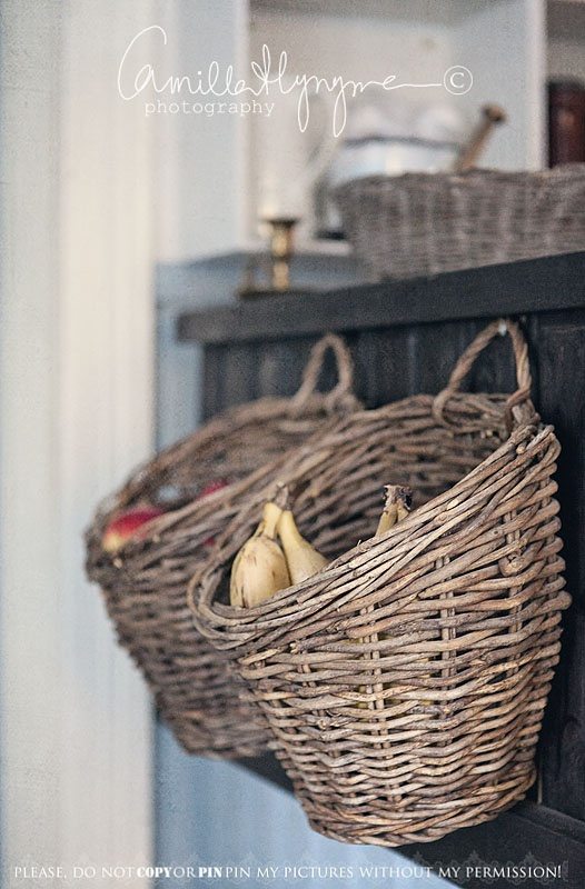 Loft Cottage Basket Basket On The Wall