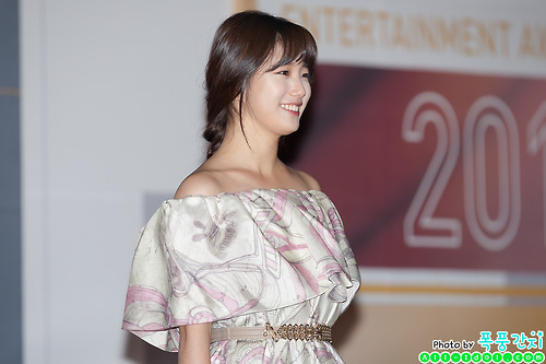 Cute SUZY MISS A SBS Entertainment Award Photo
