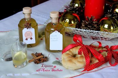 regali di natale home made:liquore all'anice stellato
