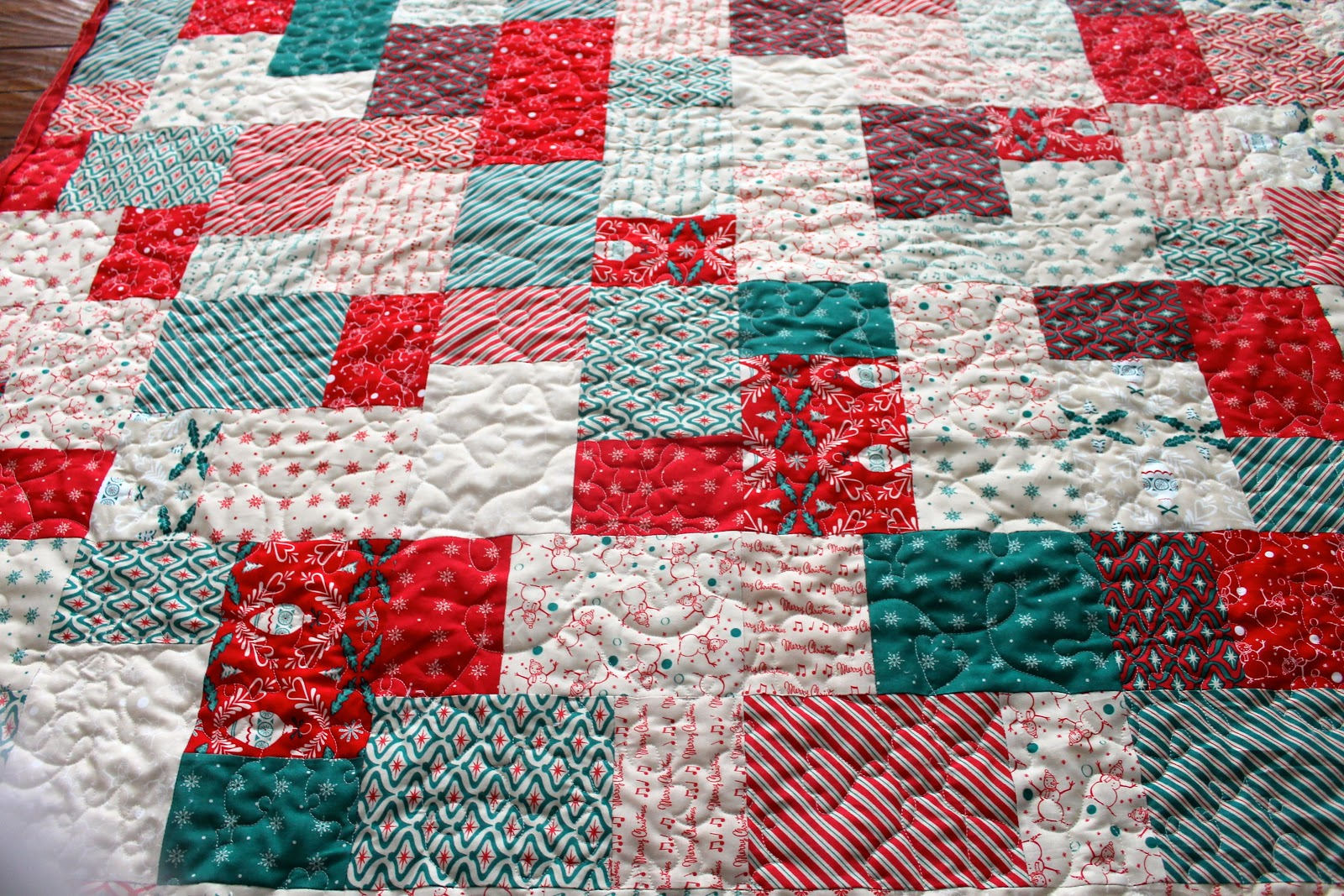 Easy Quilt Patterns Using Layer Cakes : Latimer Lane: Layer Cake Quick Quilt