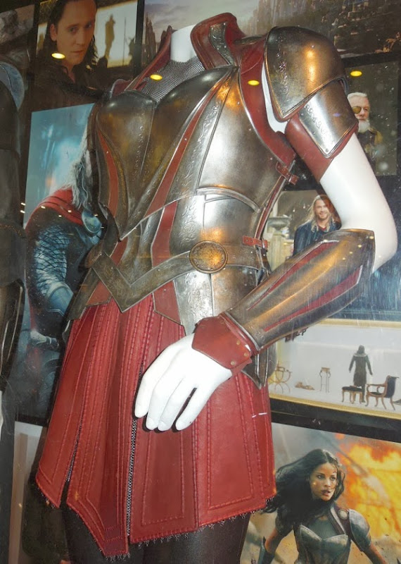 Thor Dark World Sif battle armour