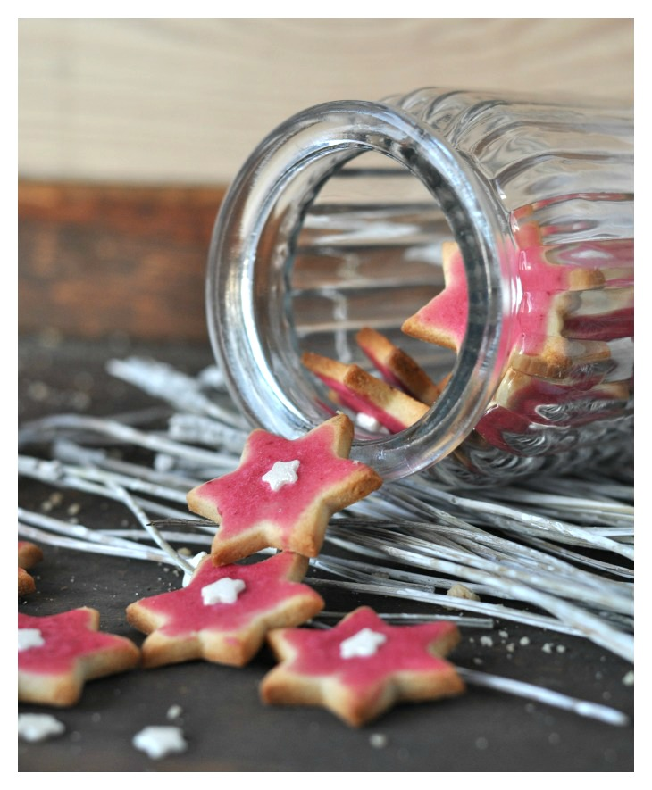 gluten free cassis cookies, a delicious little treat not just for christmas!