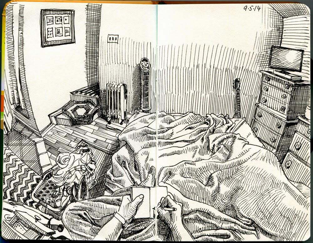 12-Paul-Heaston-Moleskine-Drawings-Points-of-View-www-designstack-co