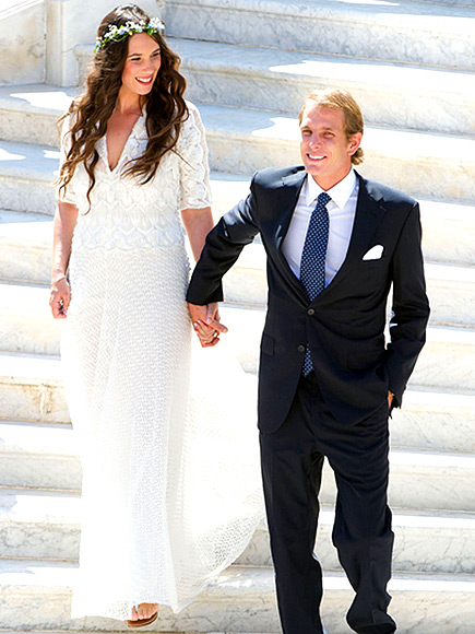 Andrea Casiraghi and Tatiana Santo Domingo summers hottest wedding 2013